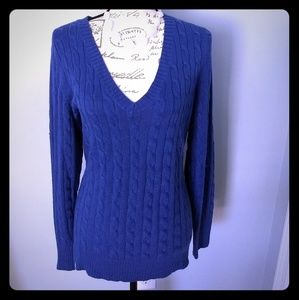 Women's Lane Bryant v-neck sweater